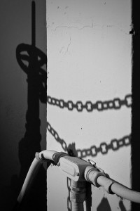 picture of the shadow of a chain by the other Martin Taylor